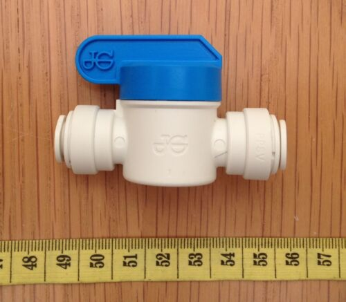 Fridge Speedfit Pushfit  Shut Off Valve //Inline Stop Tap Official John Guest