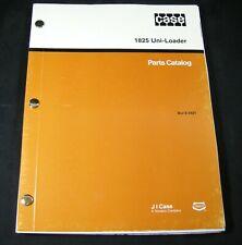 Case 1825 Uni Loader Skid Steer Tractor Parts Manual Book Catalog Uniloader