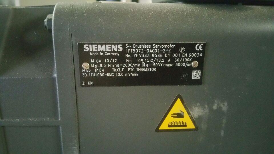 Servomotor, Siemens