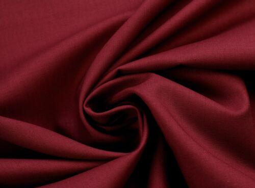 EUR 5,59//m algodón sustancia METERWARE muchos colores patchwork Wine