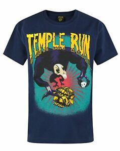 Official-Temple-Run-Boy-039-s-Blue-T-Shirt