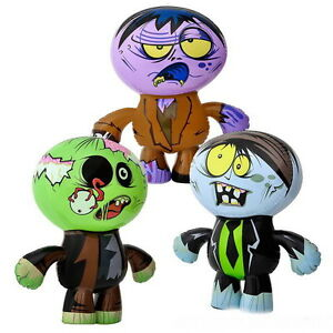 "WHOLESALE LOT OF 12 BIG 24"" ZOMBIE INFLATES INFLATABLES LIVING WALKING DEAD"