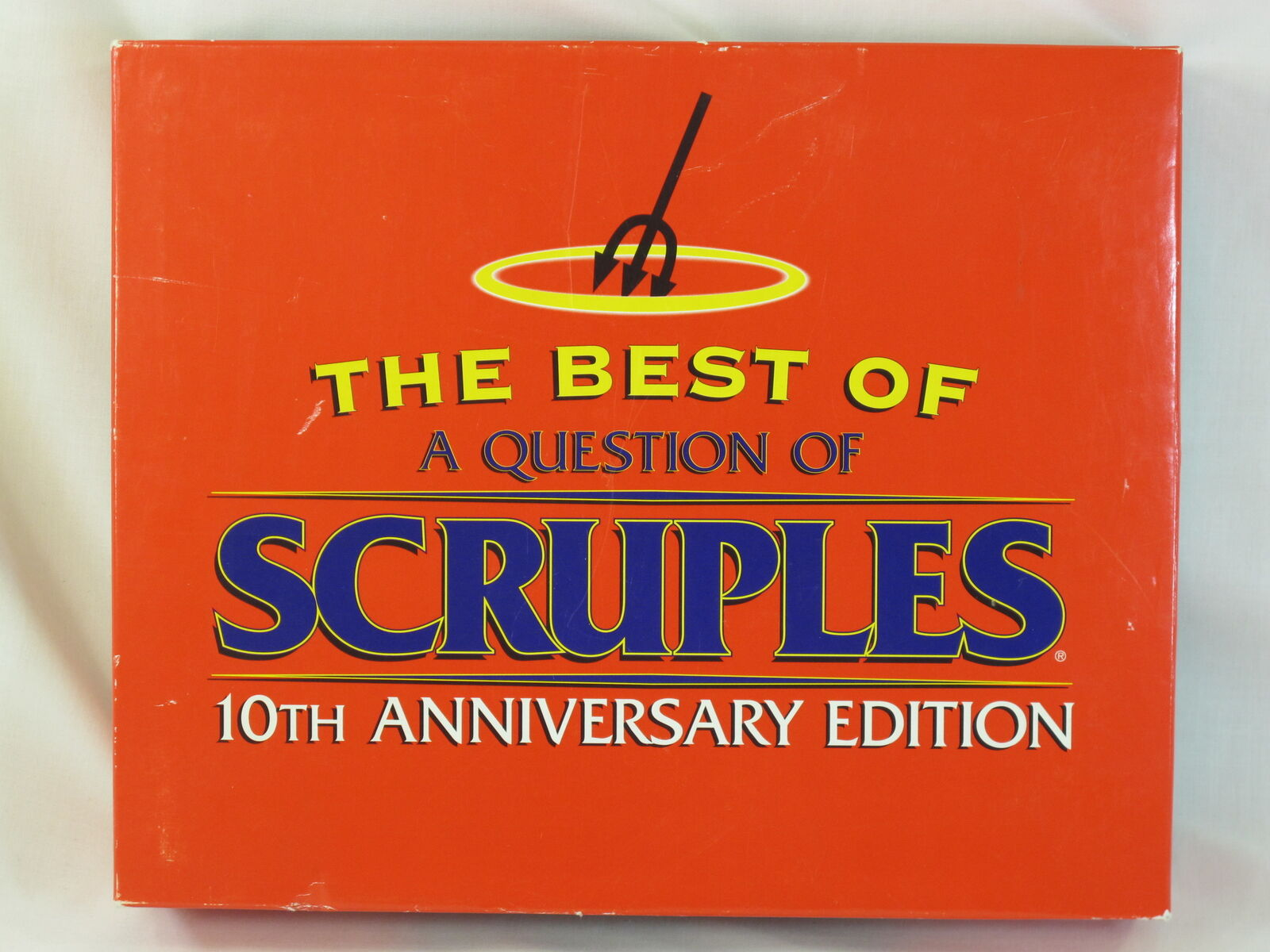 A Question of Scruples 1994 Board Game 10TH Anniversary Edition Complete @