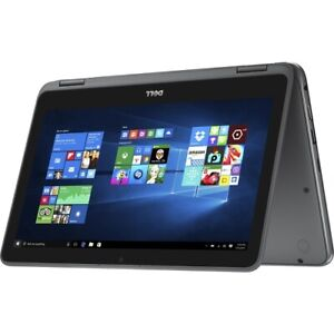 "Brand New Dell Inspiron 11.6"" HD 2-in-1 Laptop Intel Pentium 4GB 500GB HDD Win10"