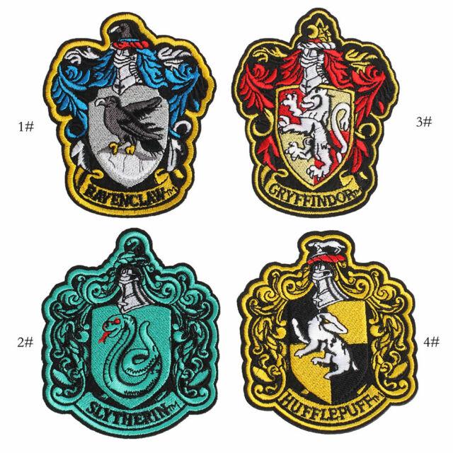 Gryffindor Harry Potter House Crest Emblem Embroidery Stick Iron