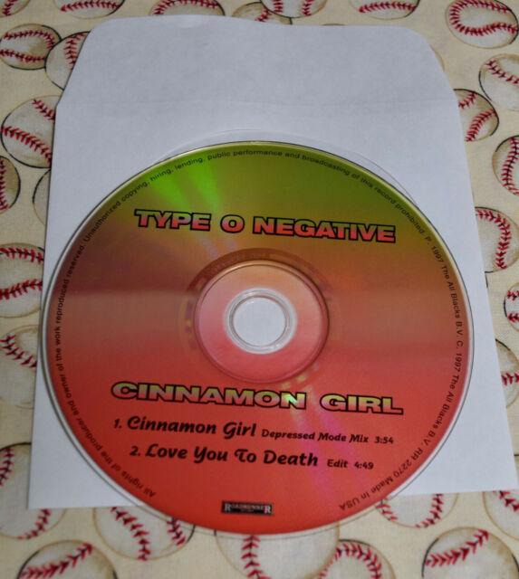 Cinnamon Girl Single By Type O Negative Cd Jun 1997 Roadrunner Records For Sale Online Ebay