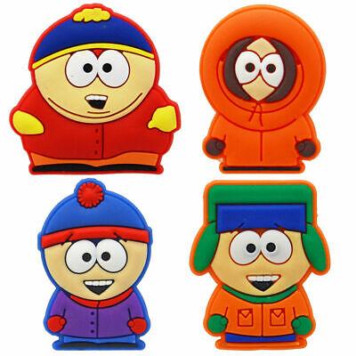South Park 4 Pins Badges Cartman Kenny Kyle Stan