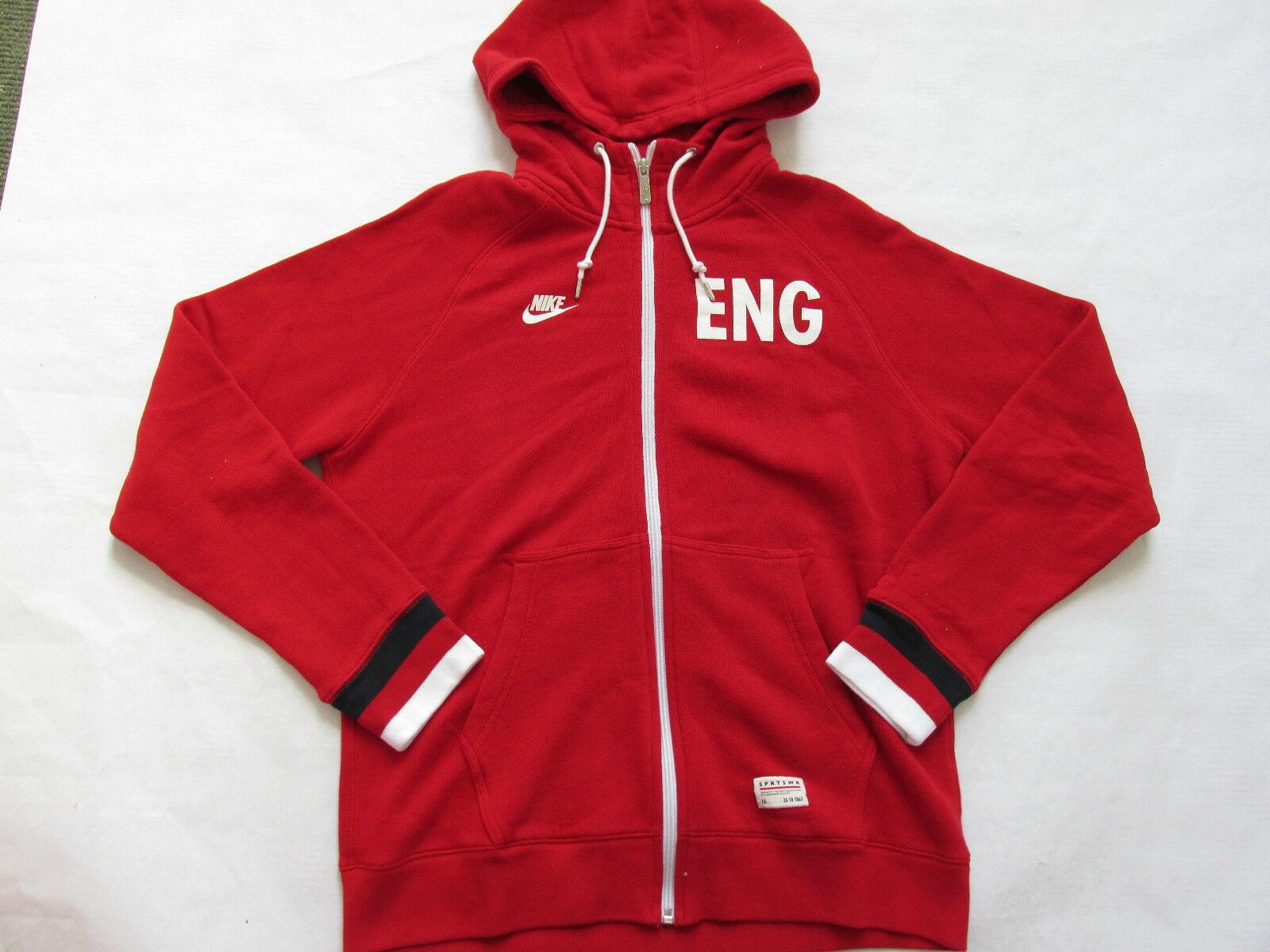Nike sportswear england football hoodie sweatshirt 597344 604