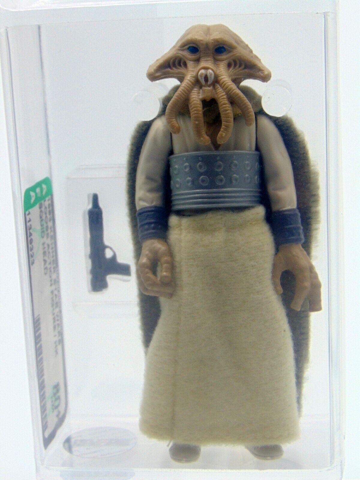 1983 Kenner Star Wars Loose Squid Head, HK, AFA Graded 80+ NM
