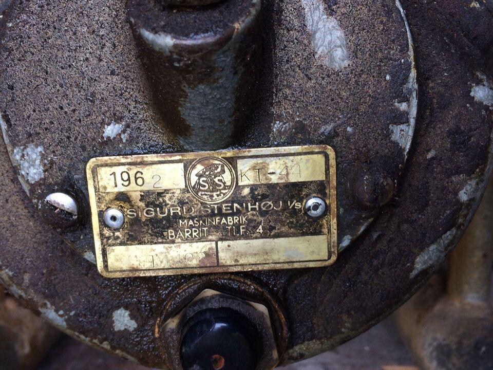 Kompressor, Stenhøj