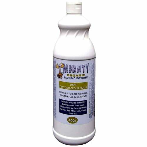 Diatomaceous Earth Mighty Organic Bedding Powder