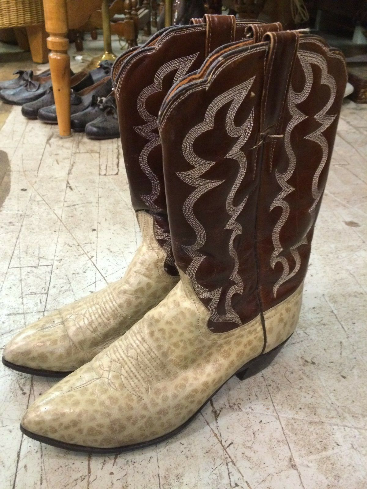 Vintage '1970 western cowboy rockabilly  Cowtown  donna stivali