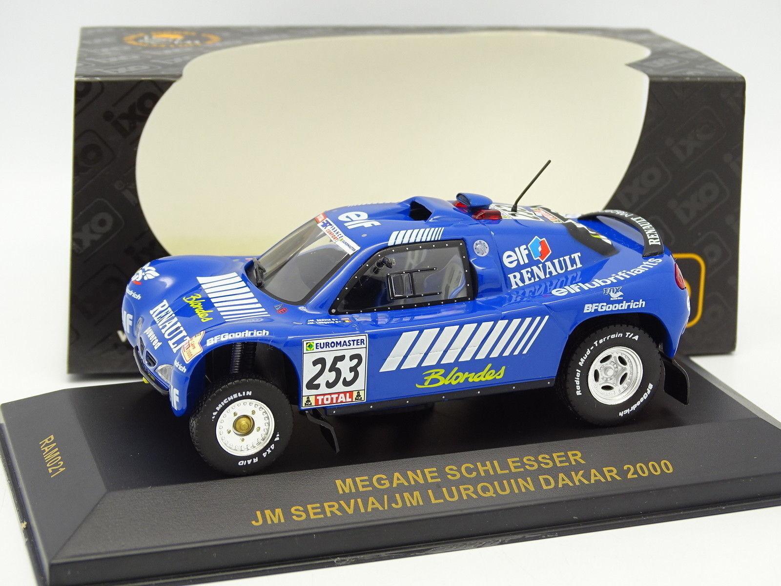 Ixo 1 43 - Renault Megane Schlesser Dakar Dakar Dakar 2000 Nº253 a49677