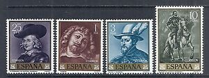1962-Spain-SC-1111-1114-Complete-Set-of-4-Painting-Peter-Paul-Rubens-MNH