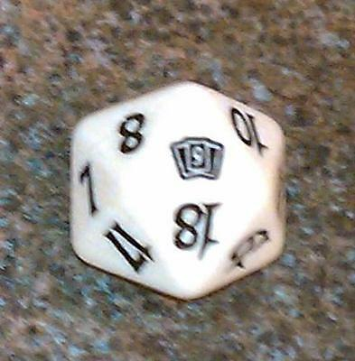 20 sided Spin Down Dice MtG Magic the Gathering 1 Blue SPINDOWN Die 9th
