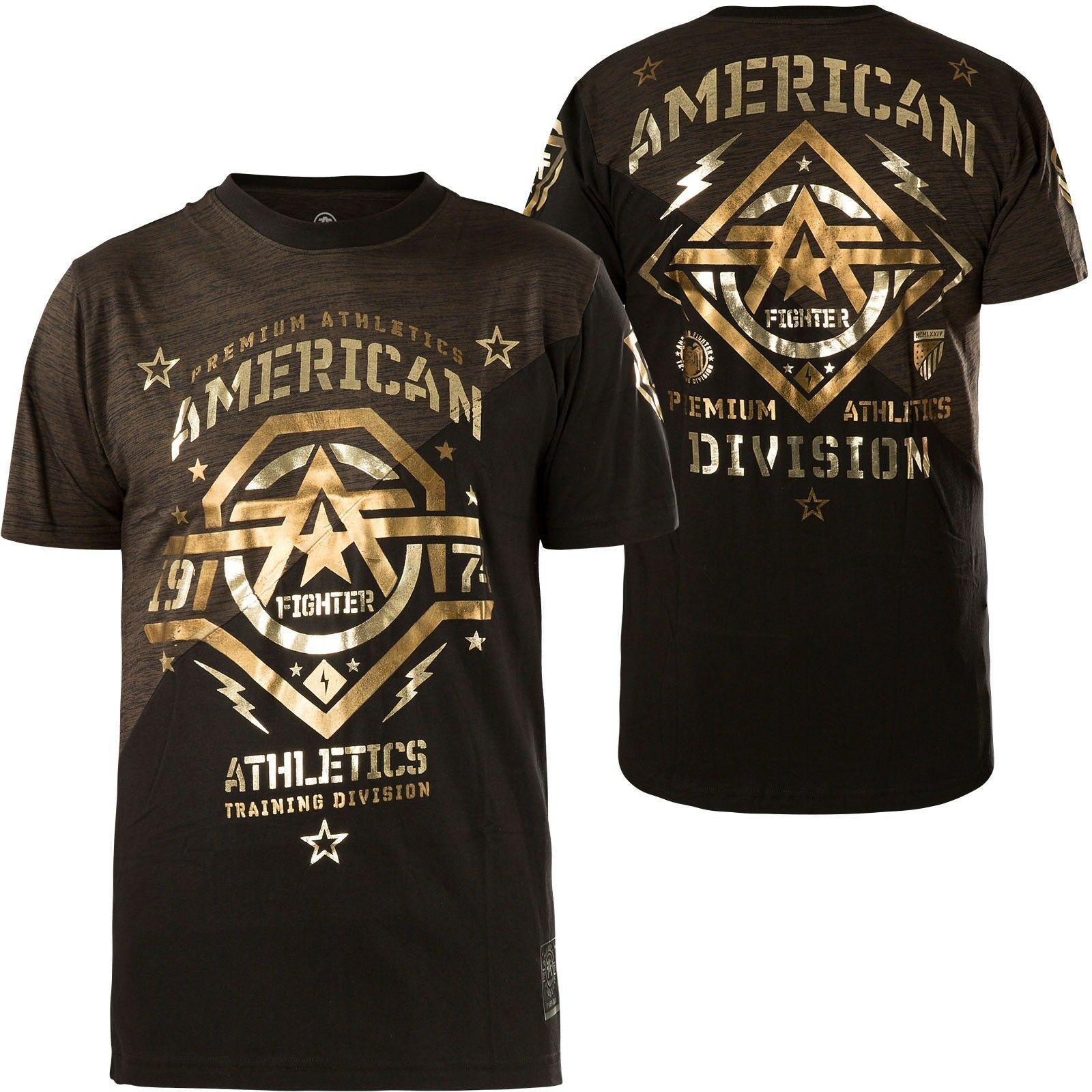 AMERICAN FIGHTER Affliction T-Shirt New Mexico brown black T-Shirts