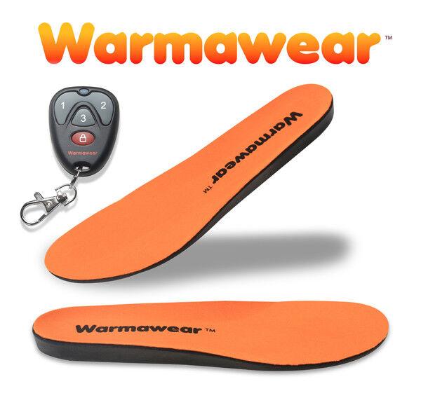 Warmawear Beheizbare Wiederaufladbare Schuheinlagen Fernbedienung Thermosohlen