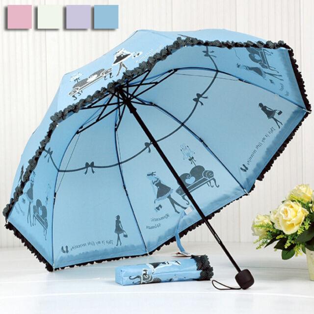 Girl Creative Umbrella For Rain&sunny Day folding Umbrella Mushroom Parasol T171