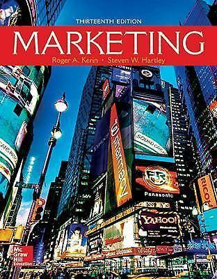 Marketing by Steven W. Hartley and Roger A. Kerin (2016, Hardcover ...