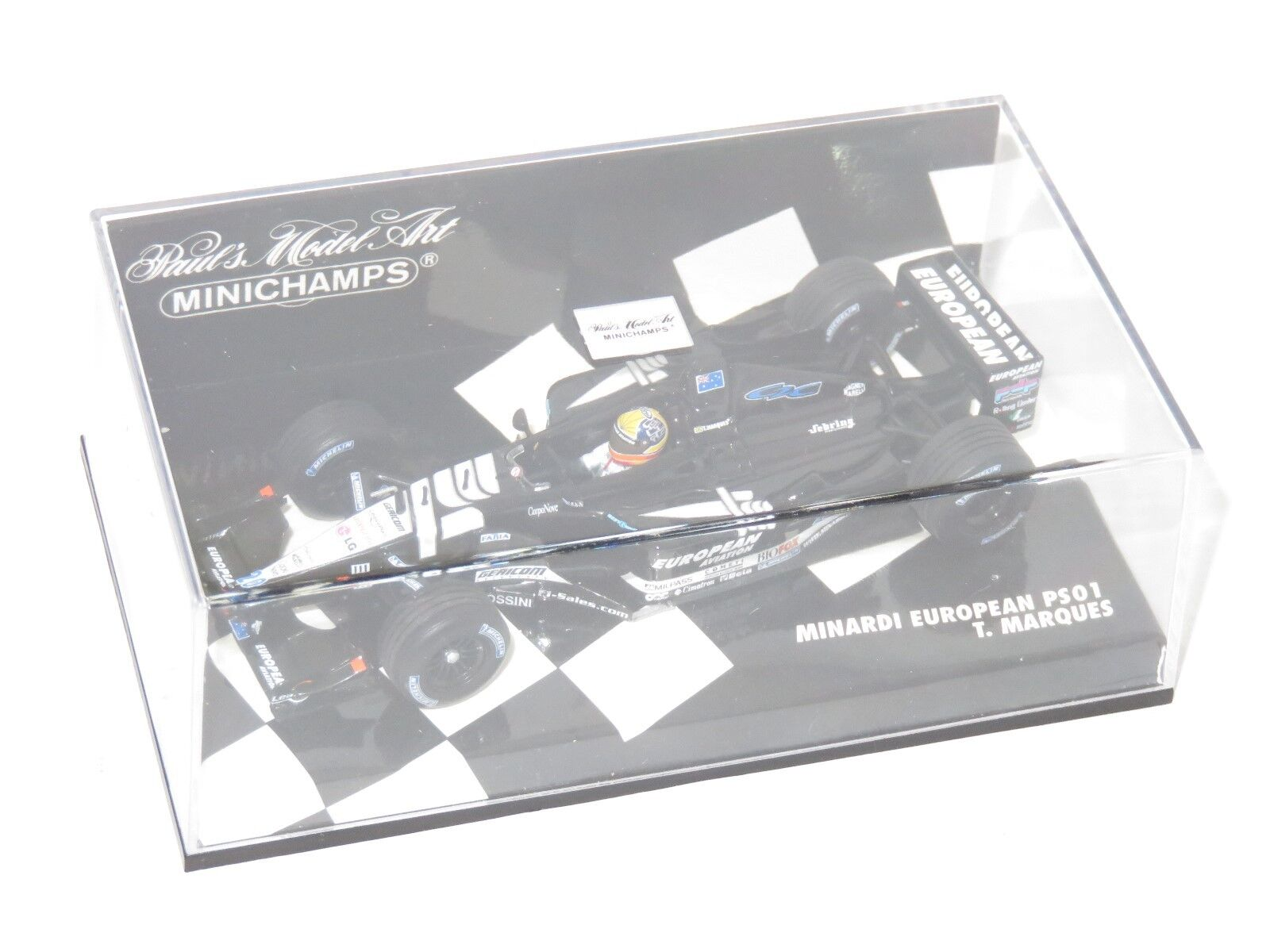1/43 Minardi European PS01 T. Marques 2001 Stagione
