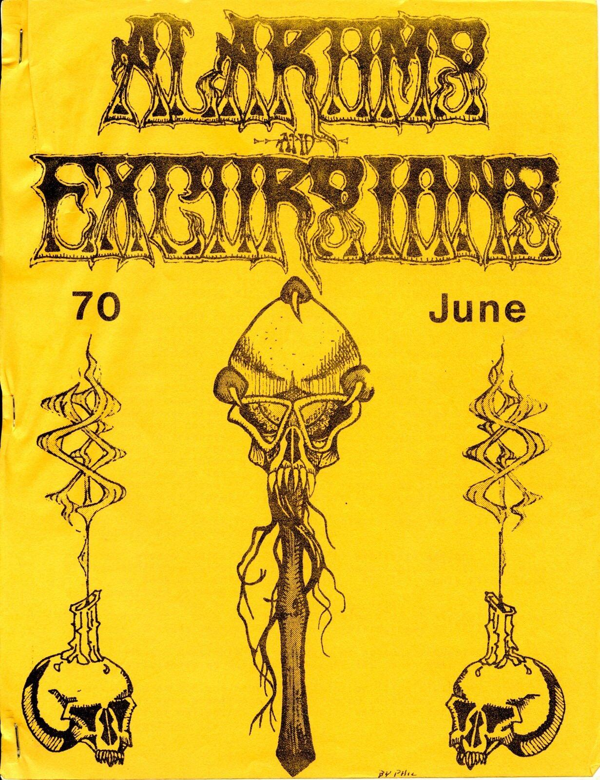 ALARUMS AND EXCURSIONS JUNE  70 FANTASY RPG EXC