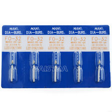 Sale 50 Packs 250PCs Dental Diamond Burs Tooth Drill For High Speed Handpiece