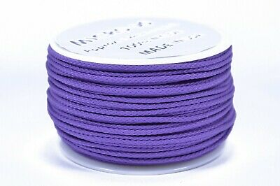 Made in the USA Purple Micro Cord 1.18mm 125ft Nylon Rope Spool
