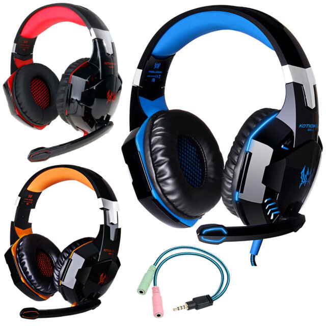SADES Gaming Headset Surround Stereo Headphone MIC for Laptop XBOX One PS4 W3X9
