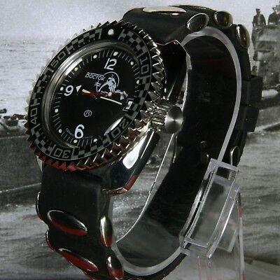 Uk Seller New Boxed Ausdrucksvoll Vostok Amphibian,amphibia Custom Russian Auto Dive Watch