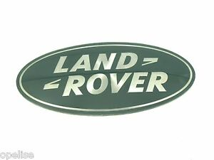 NEUF-d-039-ORIGINE-LAND-ROVER-VERT-LOGO-CALANDRE-FREELANDER-1-L315-DISCOVERY-2-3