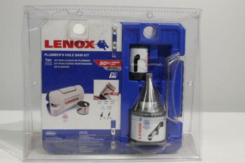 Details about  LENOX Tools 1815195 SPEED SLOT Bi-Metal Hole Saw Kit Compact Plumber's Kit