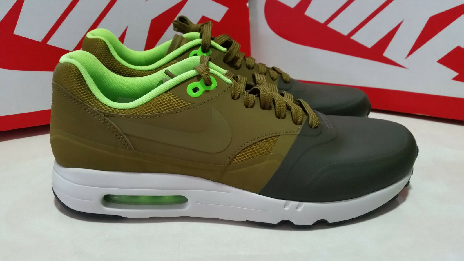 NEW NIKE AIR  MAX 1 ULTRA 2.0 SE  MENS  RUNNING SHOES SIZE 9 KHAKI 875845 300 Great discount