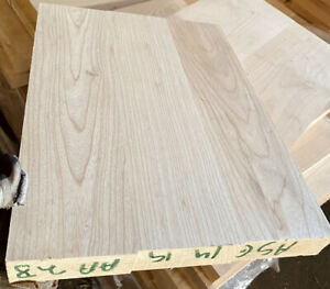 CLEAN-White-Swamp-Ash-3-pc-Grain-Guitar-blank-KD-19-x-14-X-1-78-Strat-Tele