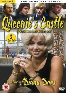 Queenie-039-s-Castle-The-Complete-Series-DVD-NEW-amp-SEALED-3-Discs-Diana-Dors