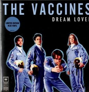 Details about THE VACCINES Dream Lover RARE BLUE VINYL 7