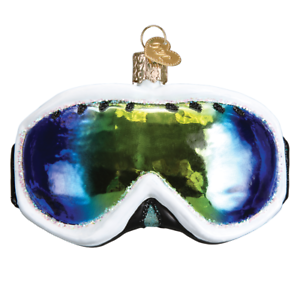 Old-World-Christmas-SKI-GOGGLES-44101-N-Glass-Ornament-w-OWC-Box