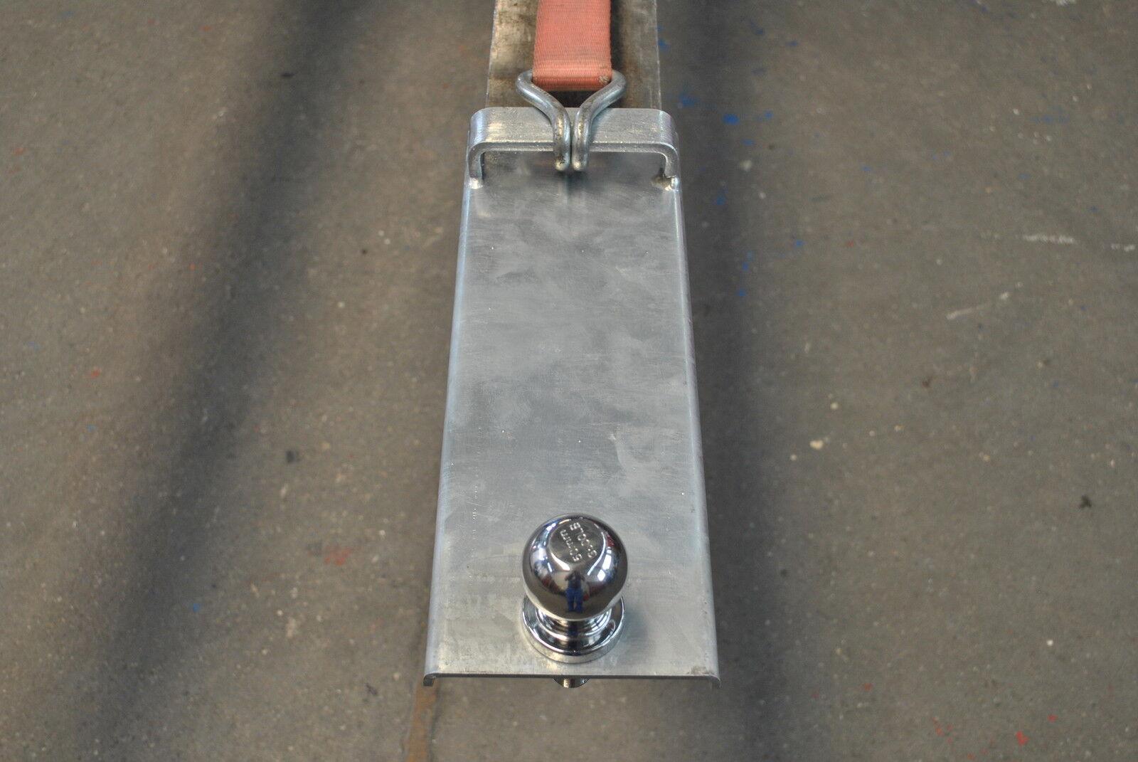 Rangierhilfe Innenmaß 110mm für Gabelstapler Gabelstapler Gabelstapler Radlader Stapler Anhängerkupplung 4dfa84