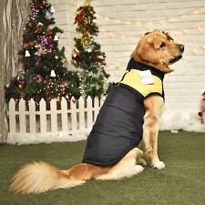 Pet Dog Cat Clothes Coat  Pet  Winter Warm Coat Jacket Vest Apparel Yellow 5