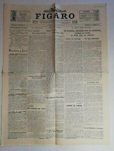 N999-La-Une-Du-Journal-Le-Figaro-30-Octobre-1929-bulletin-du-jour