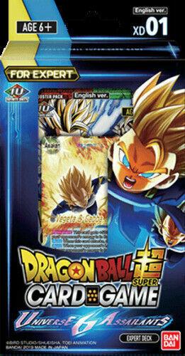 Expert Deck IN STOCK Dragon Ball Super Universe 6 Assailants