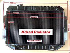 Radiator Holden HQ HJ HZ HX LH LX V8 Torana Kingswood H/duty 3 Row Adrad New