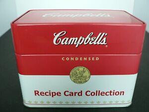 CAMPBELLS-RECIPE-BOX-2007-WITH-76-CLASSIC-RECIPES