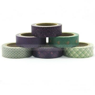 Vintage  Style Decorative Tape Floral Washi Tape Scrapbooking Stickers
