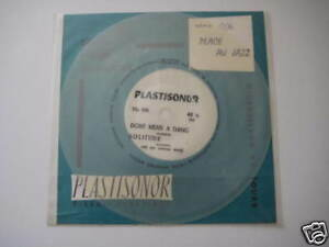 "7"" Flexi/PLASTISONOR/PLACE AU JAZZ/MIC 106/MEGARAR"