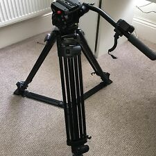 Manfrotto 501hdv Head + 525mvb Tripod + Spare Shoe + Case