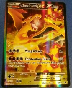 FULL-ART-Charizard-EX-ULTRA-RARE-XY121-Red-Blue-Black-Star-Promo-Pokemon-Card-HP