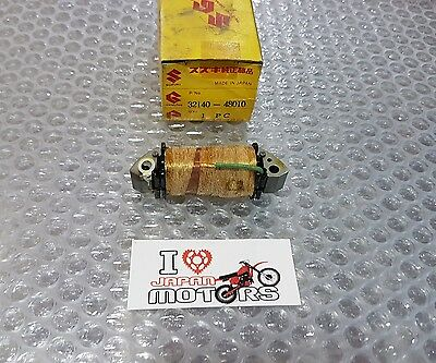 SUZUKI DS DS80 DS100 DS125 RM RM50 NEW GENUINE MAGNETO PRIMARY COIL 32140-48010