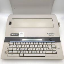 Smith Corona Word Processing Spell Right Dictionary Electric Typewriter Xd 7500
