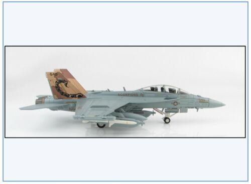 """Ha5151 e//a-18g US Navy vaq-132 /""""Scorpions/"""" 2011 hobby Master 1:72,neu 2//20 /&"""
