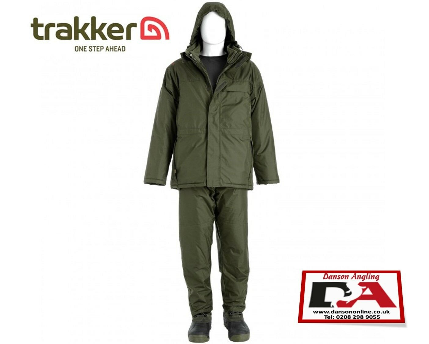 Trakker F-32 Combi-Suit XXL MEGA DEAL NEW Carp Fishing Winter Suit